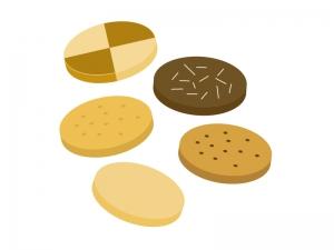 クッキー・ビスケットイラスト素材