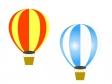 気球のイラスト素材