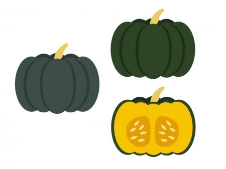かぼちゃ・野菜イラスト素材