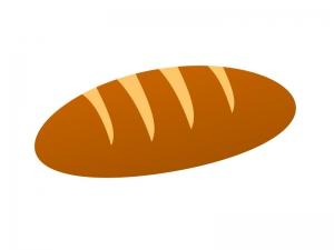 コッペパンイラスト素材