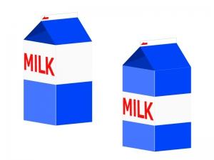 牛乳・ミルクイラスト素材