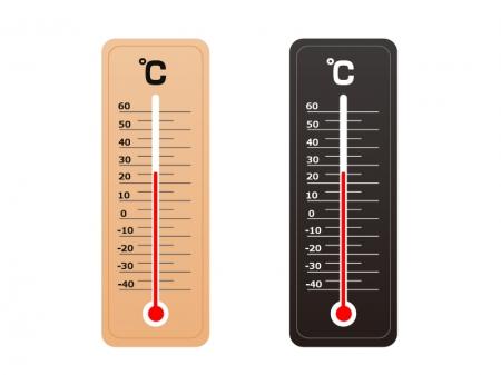 温度計のイラスト素材