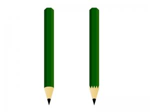 鉛筆イラスト素材