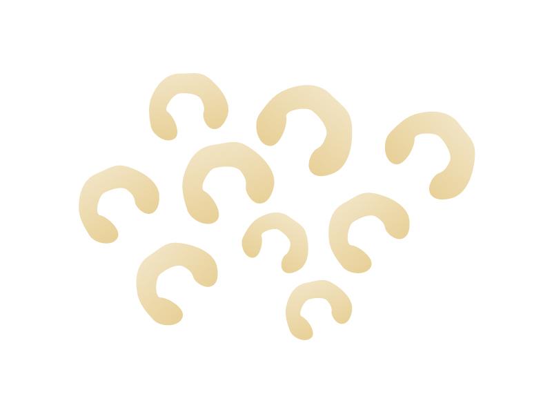 カシューナッツのイラスト素材