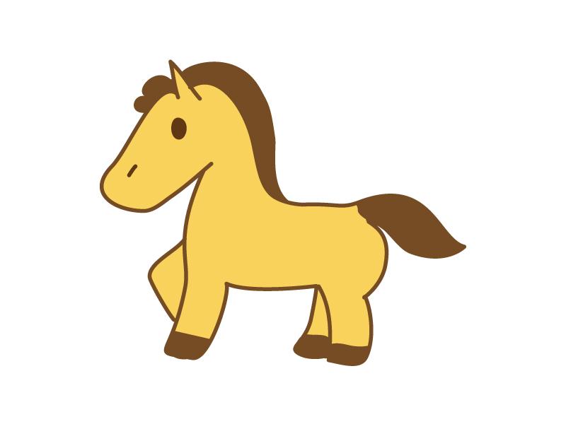 馬のイラスト素材