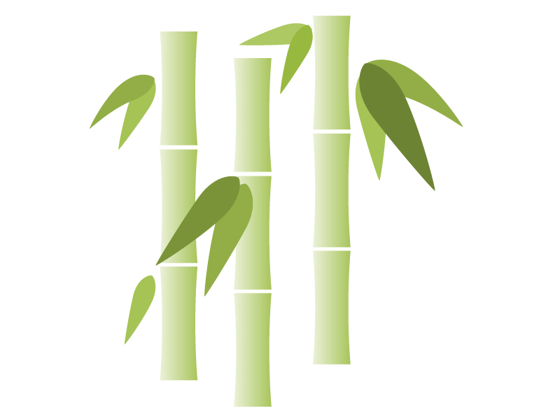 竹のイラスト素材