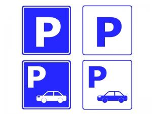 駐車場マークのイラスト素材