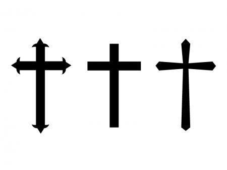 十字架のイラスト素材