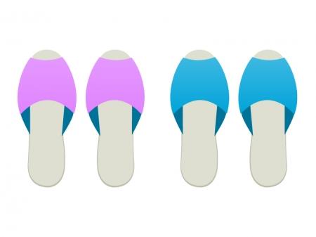 スリッパのイラスト素材 | 無料 ... : 2014カレンダー ダウンロード : カレンダー