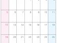 2015年(平成27年)カレンダー4月・A4印刷用