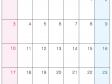 2016年(平成28年)カレンダー4月・A4印刷用