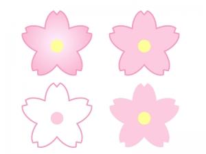 桜・春イラスト素材02