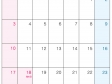2016年(平成28年)カレンダー7月・A4印刷用