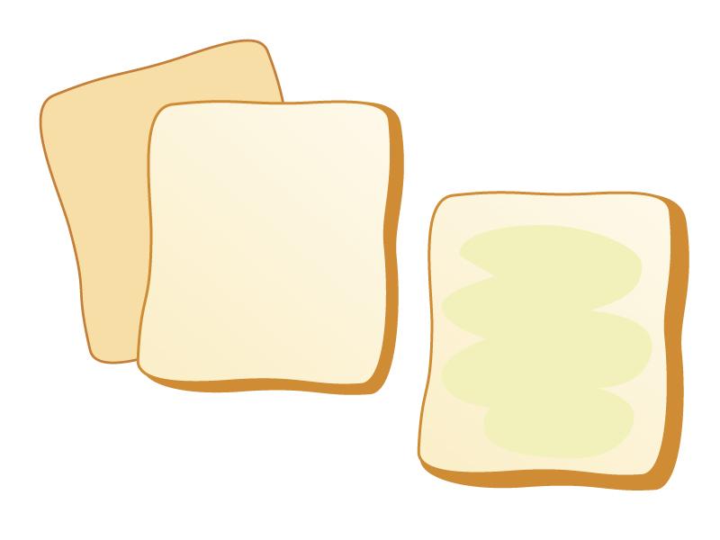 食パンのイラスト素材