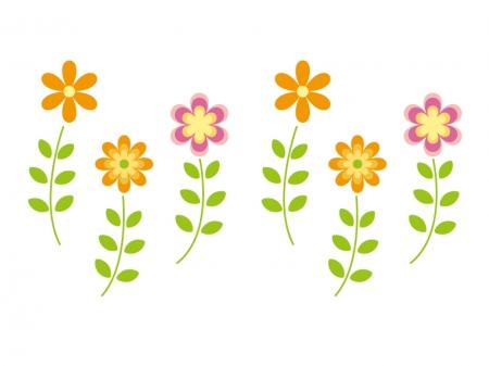 花のイラスト素材01