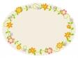 花のフレーム・飾り枠素材02