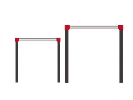 鉄棒のイラスト素材