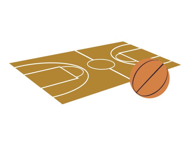 バスケットボールのイラスト素材