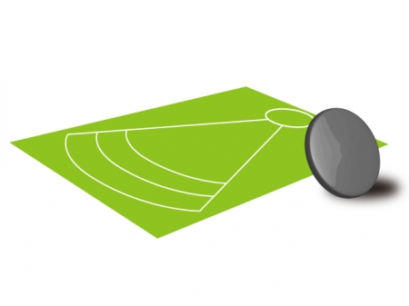円盤投げのイラスト素材