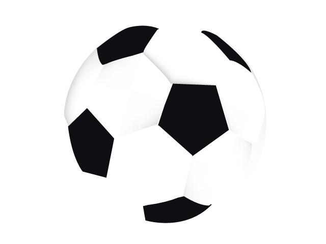サッカーボールイラスト素材02