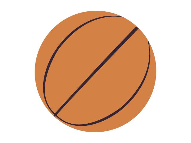 バスケットボールのイラスト素材02