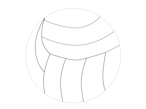 バレーボールのイラスト素材