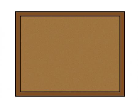 コルクボードのイラスト素材