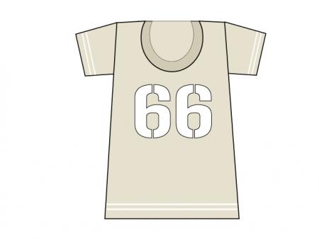 カジュアルなTシャツのイラスト素材