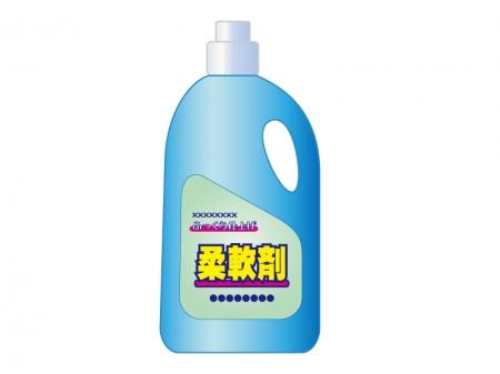 柔軟剤・洗濯のイラスト素材
