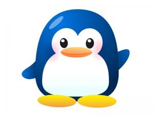 かわいいペンギンのイラスト素材