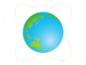 地球のイラスト素材