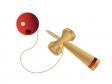 赤い玉のけん玉イラスト素材