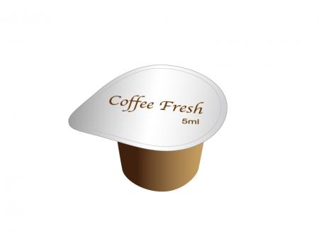 コーヒーフレッシュ(ポーション)のイラスト素材