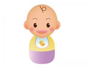 赤ちゃんのイラスト素材02