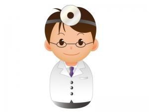 医師のアイコンイラスト素材