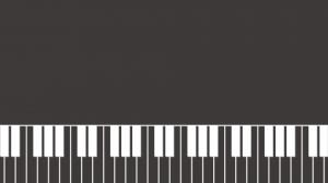 ピアノ鍵盤・音楽の壁紙・背景素材 1,920px×1,080px