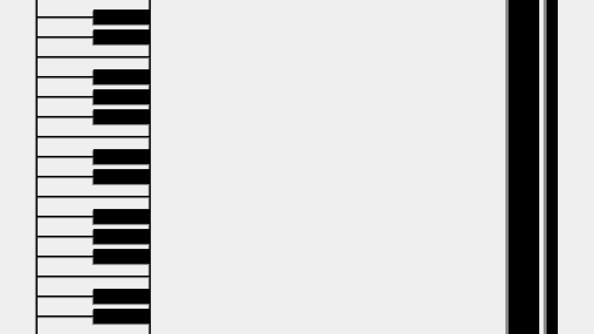 ピアノ鍵盤・音楽の壁紙・背景素材 1,920px×1,080px 02