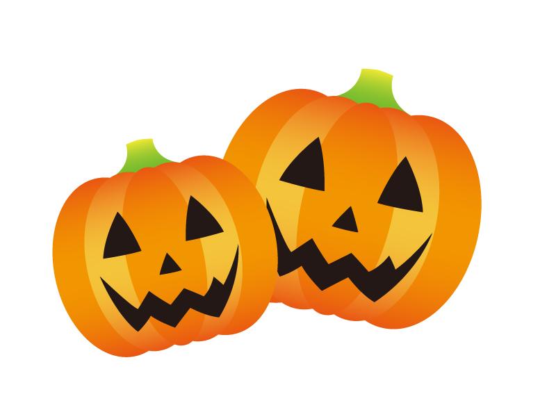 かぼちゃ・ハロウィンのイラスト素材02