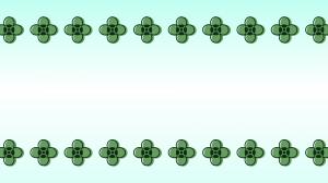 緑色の小花の壁紙・背景素材 1,920px×1,080px
