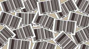 たくさんのバーコードの壁紙・背景素材 1,920px×1,080px