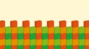ブロック模様の壁紙・背景素材 1,920px×1,080px