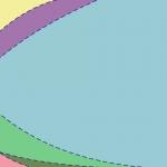 点線の入ったカラフルでパステル調の壁紙・背景素材 1,920px×1,080px 02