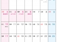 六曜付・2015年(平成27年)カレンダー5月・A4印刷用