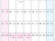 六曜付・2015年(平成27年)カレンダー9月・A4印刷用