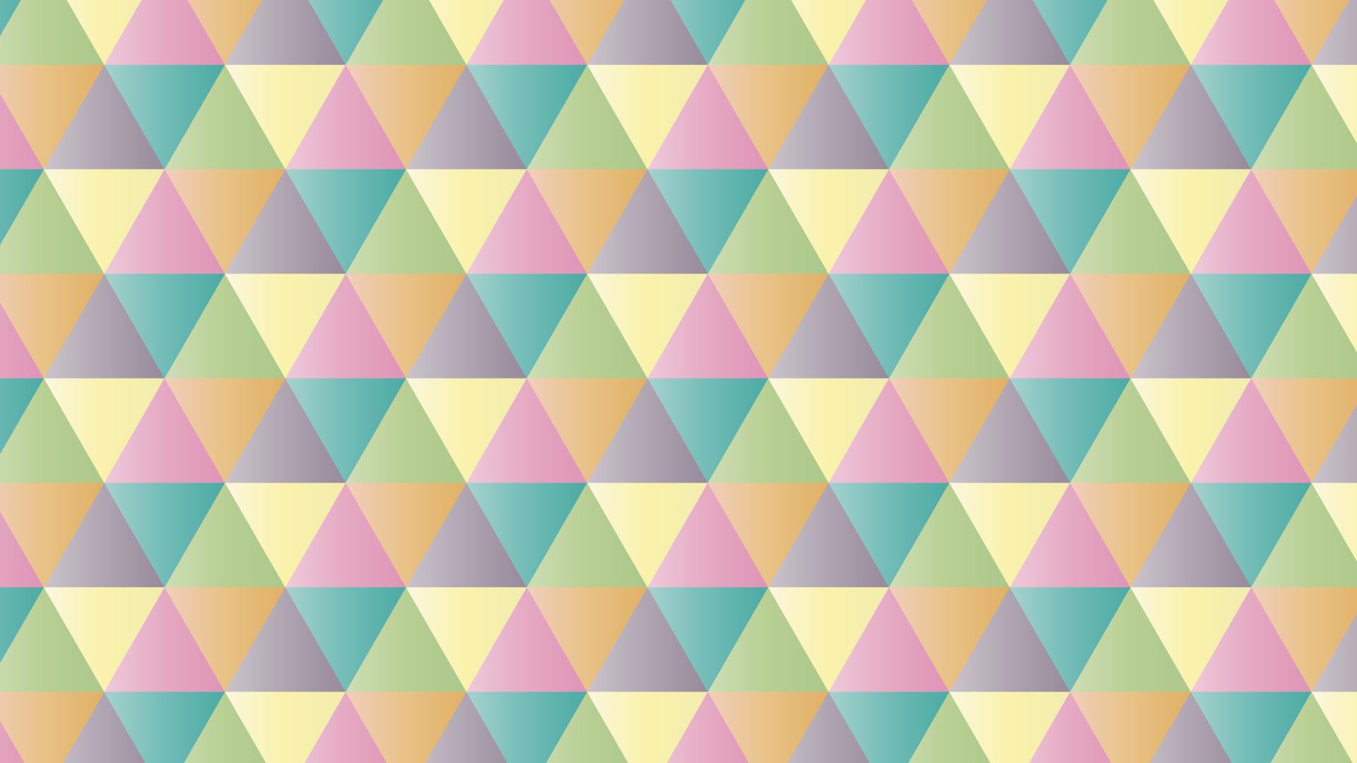 テクスチャ・トライアングルの壁紙・背景素材 1,920px×1,080px