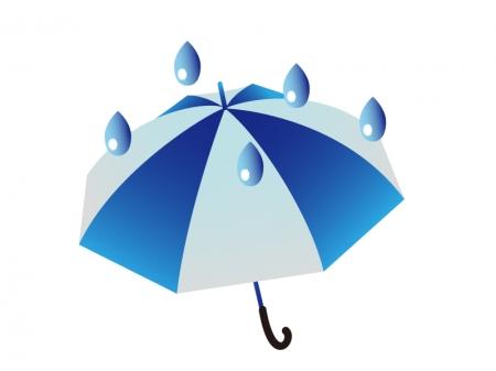 天気・雨マークのイラスト素材