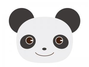 かわいいパンダのイラスト素材