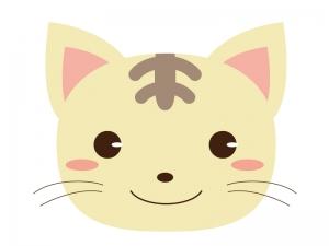 かわいいネコのイラスト素材