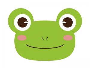 かわいいカエルのイラスト素材