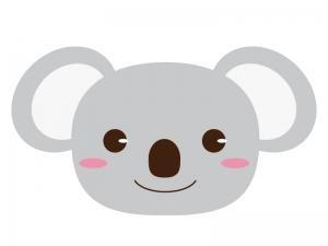 かわいいコアラのイラスト素材